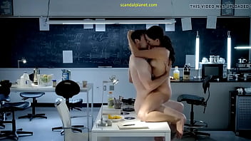 Naked Sex with Collegue in Experimental Lab