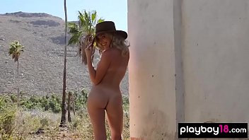 All natural amateur beauty sensual outdoor striptease