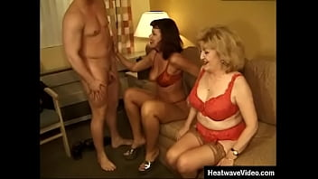 f. and stepson compete to see who can fuck mature bitches the best