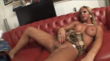 Nice Shemale sucked and
