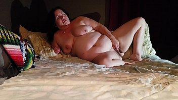 Sexy BBW Fucks with a Couple of Squirts