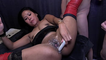 Asian beauty Suki is doing a private Gang Bang Party with lots of dicks and tons of fresh sperm part 2