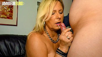 AMATEUR EURO - Classy Gilf Mom Kiki R. Knows To Take Care Of Her Precious Hubby