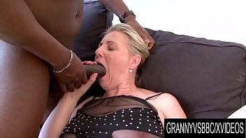 Granny Vs BBC - Mature Nicol Gets Plowed by Her Black Lover