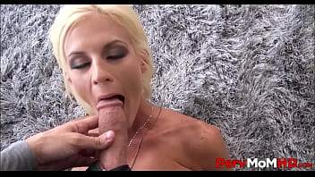 MILF Step Mom With Big Tits Olivia Blu Seduces And Fucks Step Son While Dad Sleeps On Couch POV