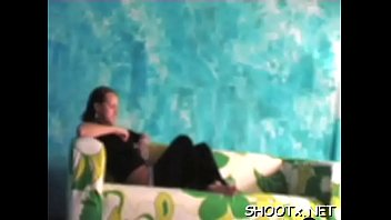 Amateur clip with erotic couple getting perspired in bed