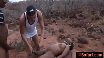 Submissive Ebony Sucks Hard Dicks And Gets Body Abused By Couple Of Hordit-ass-6