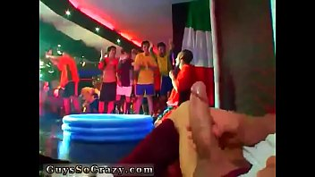 Nude school boys group wanking and teen gay party cream pie sex first