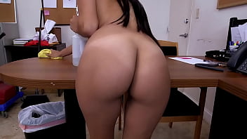Sean Lawless Convinces His Maid Soffie To Clean His Cock With Her Mouth