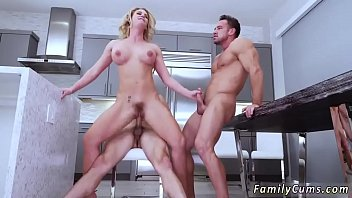 Teen changing From there the studs double teamed this big-titted milf