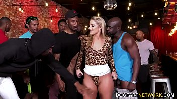 Candice cassidy pussy Bbc slut candice dare survives interracial gangbang in a bar