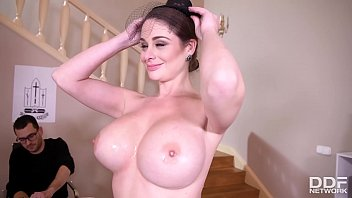Big Tits Fucked Hard As Widow Cathy Heaven Wanks His Veiny Cock Real Hard thumbnail