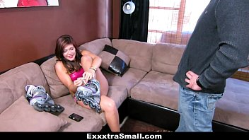 Slutload pantyhose neighbor fantasy - Exxxtrasmall - petite neighbor picked up and fucked