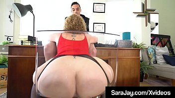 Fuck suck boy Pawg boss lady sara jay face fucks a big black cock