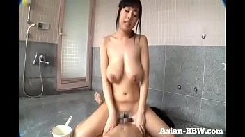 Asian Goddess slides all over Cock - more at Asian-BBW.com