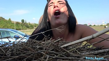 Public Agent Firm assed hottie loved getting fucked outdoors