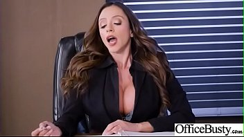 Hot Sex In Office With Big Round Boobs Girl (Ariella Ferrera) video-04