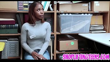Busty Black Teen Sucking Cops Dick And Getting Fucked