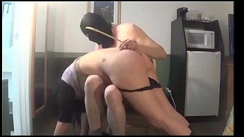 white gardenia -  (excerpt from bondage clip #5) goth girl gets spanked beautiful girl disciplined slave dominated humiliated discipline spanking goth girl with a big butt huge ass huge tits butt punishment