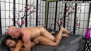 Adrian Maya Erotic Oil Fantasy Fuck