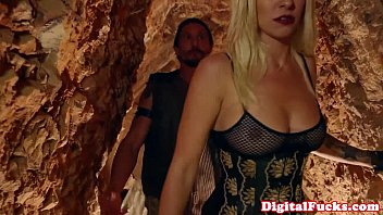 Abby Cross doggystyling in dystopia 10 min
