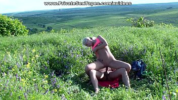 Meadows nude A blossoming meadow and nude couple fucking in the middle