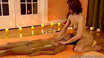 Lady Lovers Liking Relaxing Massage
