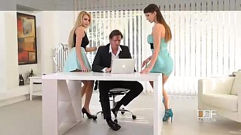 Office Adventures-Luxury Secretaries fuck the Boss