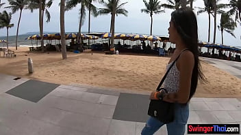 Thai amateur girlfriend teen gets recorded on camera