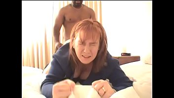 Redhead Dawn gets her pussy pounded by a big black cock and takes a huge dripping creampie