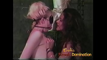 Curious blonde experiences a rough bdsm session in the Hellfire club