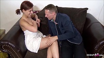 GERMAN TEEN BABYSITTERIN TALK TO FUCK BY BOSS FOR EXTRA CASH