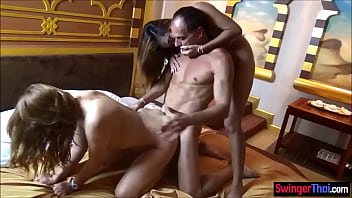 Swinger Orgy With Amateur Harem Of A Guy And He Invited His Friend To Join