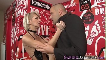 Butt fingered kinky milf anally rides cock
