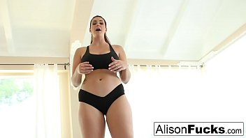 Alison Tyler is a busty yoga instructor