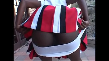 Black Hot black cheerleader Tiny Star takes it in her wet twat tumblr xxx video