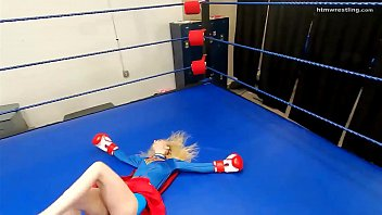 Superheroine Boxing  Ryona