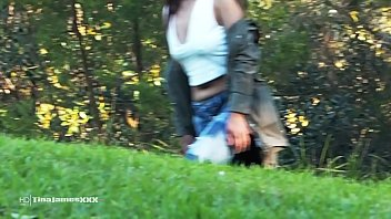 Asian pee girl - Natures nectar - asian tina plays outdoor pee games in the local park