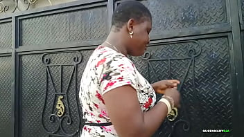 African Gift traveled from Lagos to Warri to meet her fan for a mad fuck