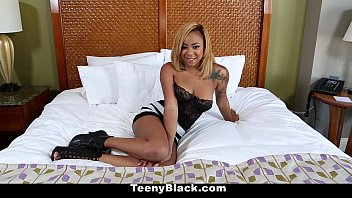 TeenyBlack - Ebony Creampie Surprise for Diamond Monrow