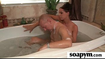 Sisters Friend Gives Him a Soapy Massage 3