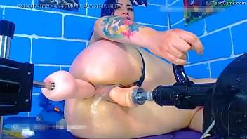 Her New Sex Machine Give Her Double Pleasure - Join LilTeenCams.com