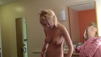 blonde amateur with famous big boobs