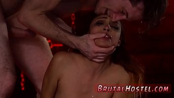 Bull whipping slave and extreme masochist anal Poor little Jade
