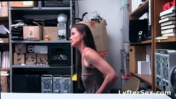 Hot Thief Mom Fucked By Security Officer
