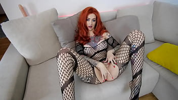 Redhead babe JOI and pussyfuck teaser