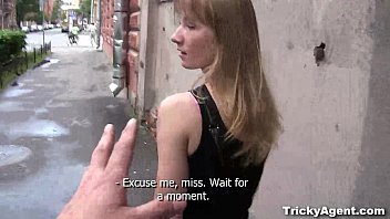 Teen earn money Tricky agent - a blond student sonja is looking for some cash