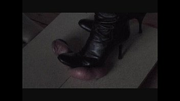 Trample cock and balls - Cock and ball trampling