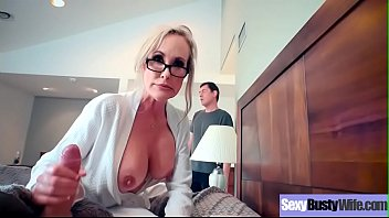 Sex Tape With Busty Naughty Housewife (Brandi Love) clip-06 7 min