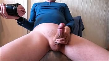 My solo 220 (Shooting hot cumshot after fucking pink lady)